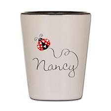 Ladybug Nancy Shot Glass