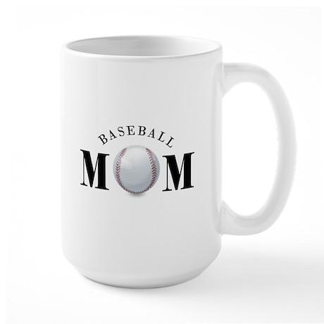 Baseball Mom (basic) Large Mug
