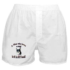 Man Who Loves a Corgi is #1 Boxer Shorts