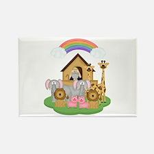 Noah's Ark Rectangle Magnet