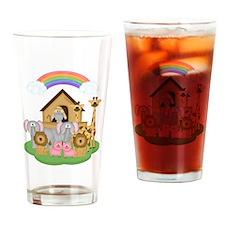 Noah's Ark Drinking Glass