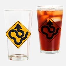 Happy arrows Drinking Glass