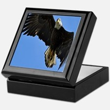 Majestic Bald Eagle Keepsake Box