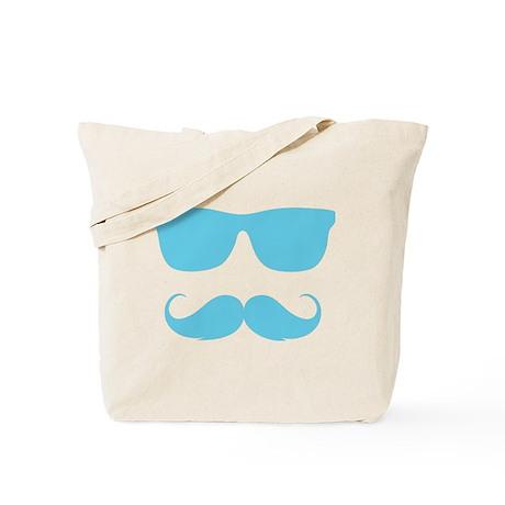 cool moustache Tote Bag
