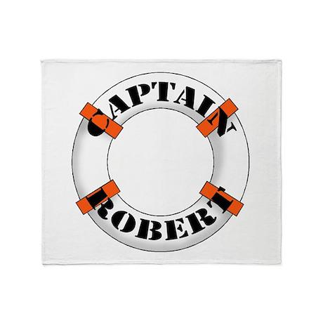 Captain Robert Throw Blanket