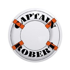 Captain Robert Ornament (Round)