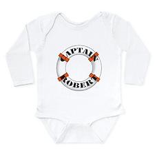 Captain Robert Long Sleeve Infant Bodysuit