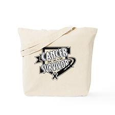 Carcinoid Cancer Survivor Tote Bag