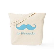 Le Moustache. Tote Bag