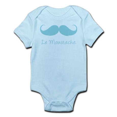 Le Moustache. Infant Bodysuit