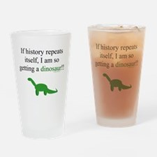 If History Repeats Drinking Glass