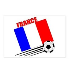 France - Soccer Team Postcards (Package of 8)