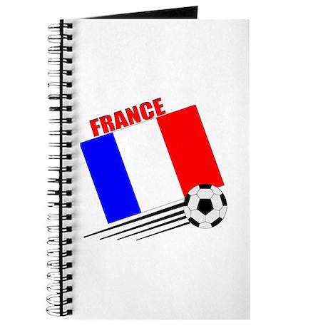 France - Soccer Team Journal