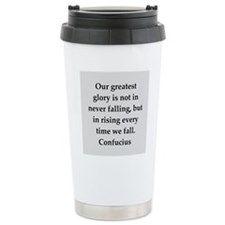confucius wisdom Travel Mug