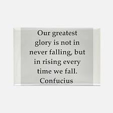 confucius wisdom Rectangle Magnet (10 pack)
