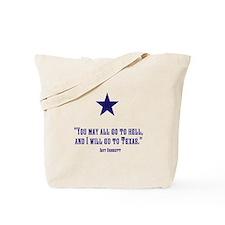 Cute Crockett texas Tote Bag