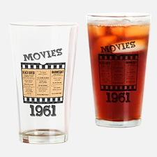 1961 Movies Drinking Glass