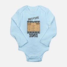 1961 Movies Long Sleeve Infant Bodysuit