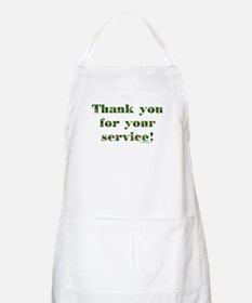 Camo Armed Forces Thank You BBQ Apron