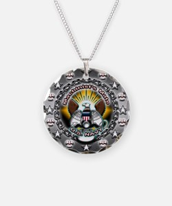 USN Navy Machinists Mate MM Necklace