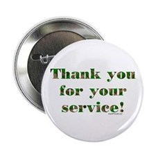 "Camo Armed Forces Thank You 2.25"" Button (10 pack)"