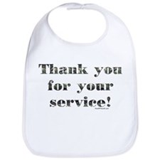 Thank You Armed Forces CAMO Bib
