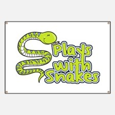 Plays with Snakes Banner