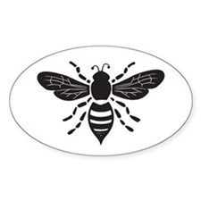 bee stamp Decal