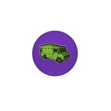 Food Truck: Basic (Green) Mini Button (100 pack)