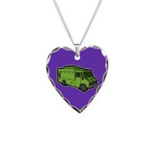 Food Truck: Basic (Green) Necklace