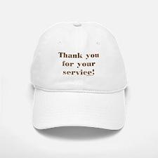 Desert Camo Servicemen Thank You Baseball Baseball Cap
