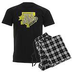 Bladder Cancer Survivor Men's Dark Pajamas