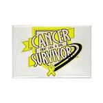 Bladder Cancer Survivor Rectangle Magnet (100 pack