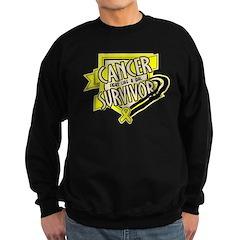 Bladder Cancer Survivor Sweatshirt
