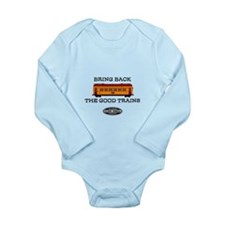 Illinois Terminal Interurban Long Sleeve Infant Bo