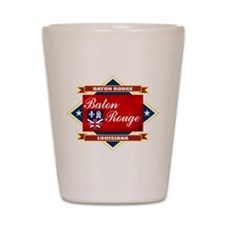 Baton Rouge Flag Shot Glass