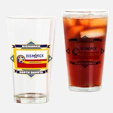 Bismarck Flag Drinking Glass