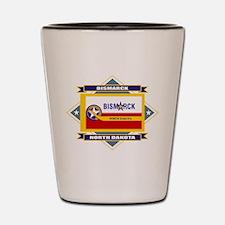 Bismarck Flag Shot Glass