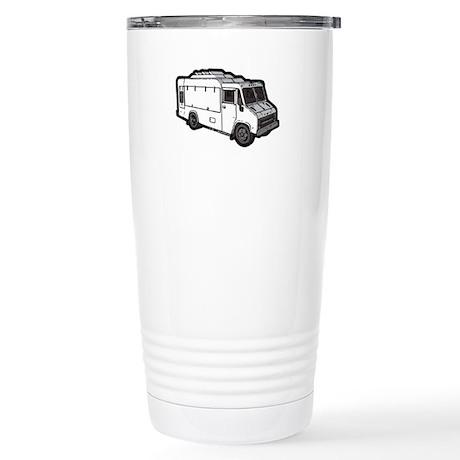 Food Truck: Basic (White) Stainless Steel Travel M