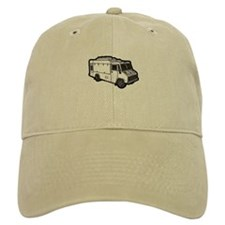 Food Truck: Basic (White) Baseball Cap