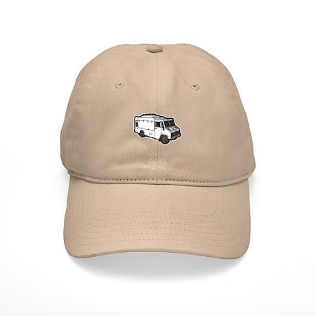 Food Truck: Basic (White) Cap