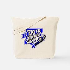 Anal Cancer Survivor Tote Bag