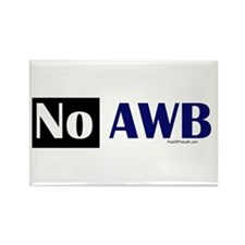No AWB Rectangle Magnet