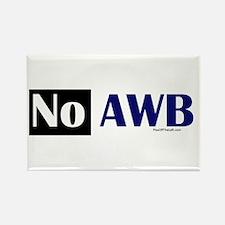 No AWB Rectangle Magnet