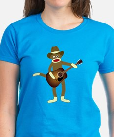 Sock Monkey Country Music Tee