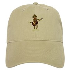 Sock Monkey Country Music Cap