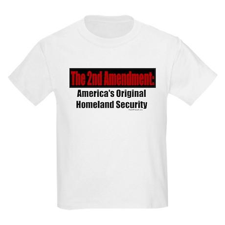 America's Original Homeland Security Kids T-Shirt