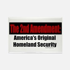America's Original Homeland Security Rectangle Mag