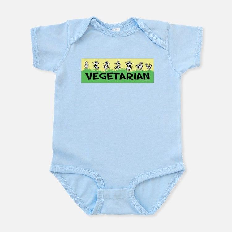 Vegetarian Cows Infant Bodysuit