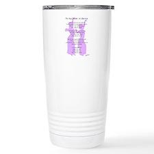 Bellydance Sister Poem Travel Mug